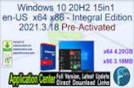 Windows 10 20H2 15in1 en-US x64 - Integral Edition 2021.1.16
