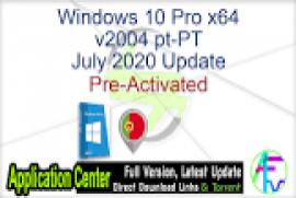 Windows 10 Pro x64 2004 incl Office 2019 - ACTiVATED July 2020